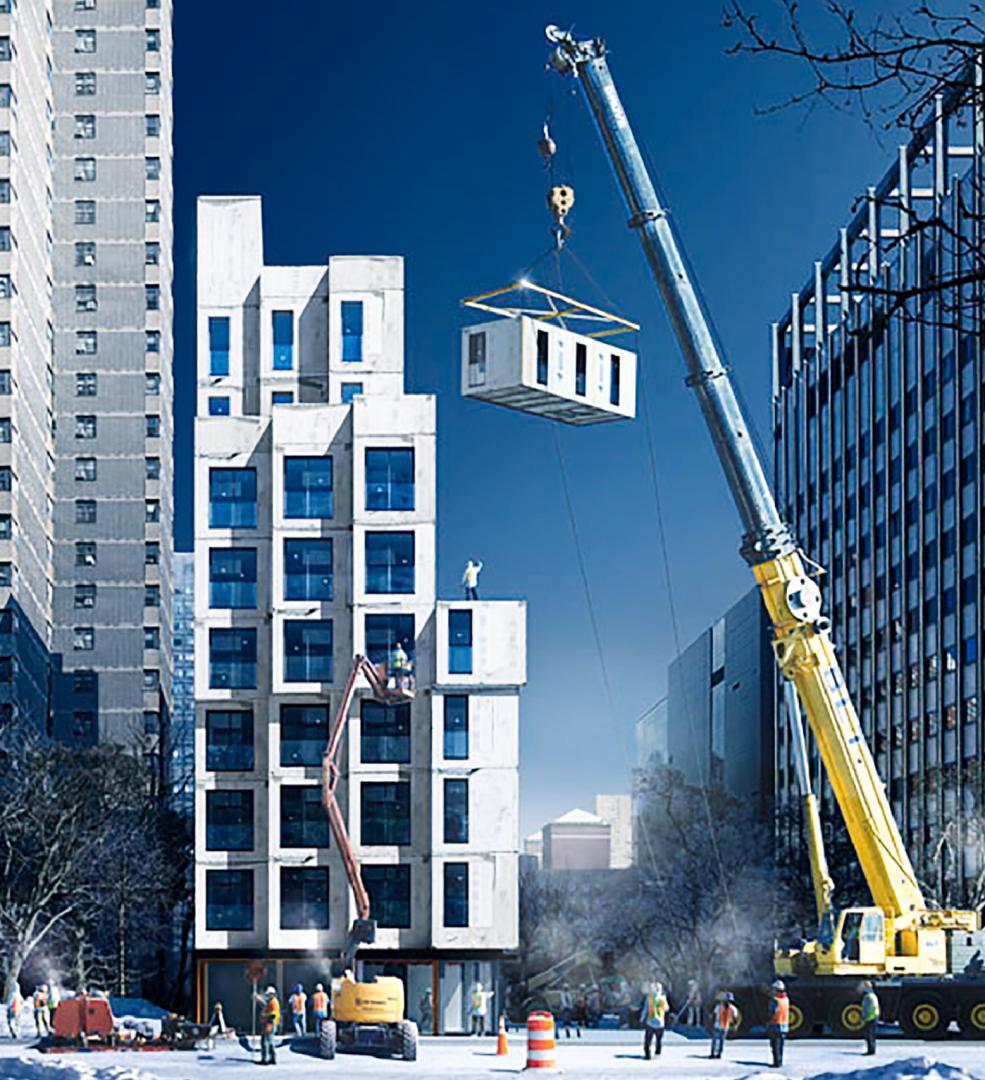 ALUMIC_High Rise Modular Building