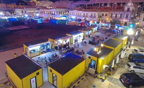美食商业街 | 澳门渔人码头灯光夜市美食街