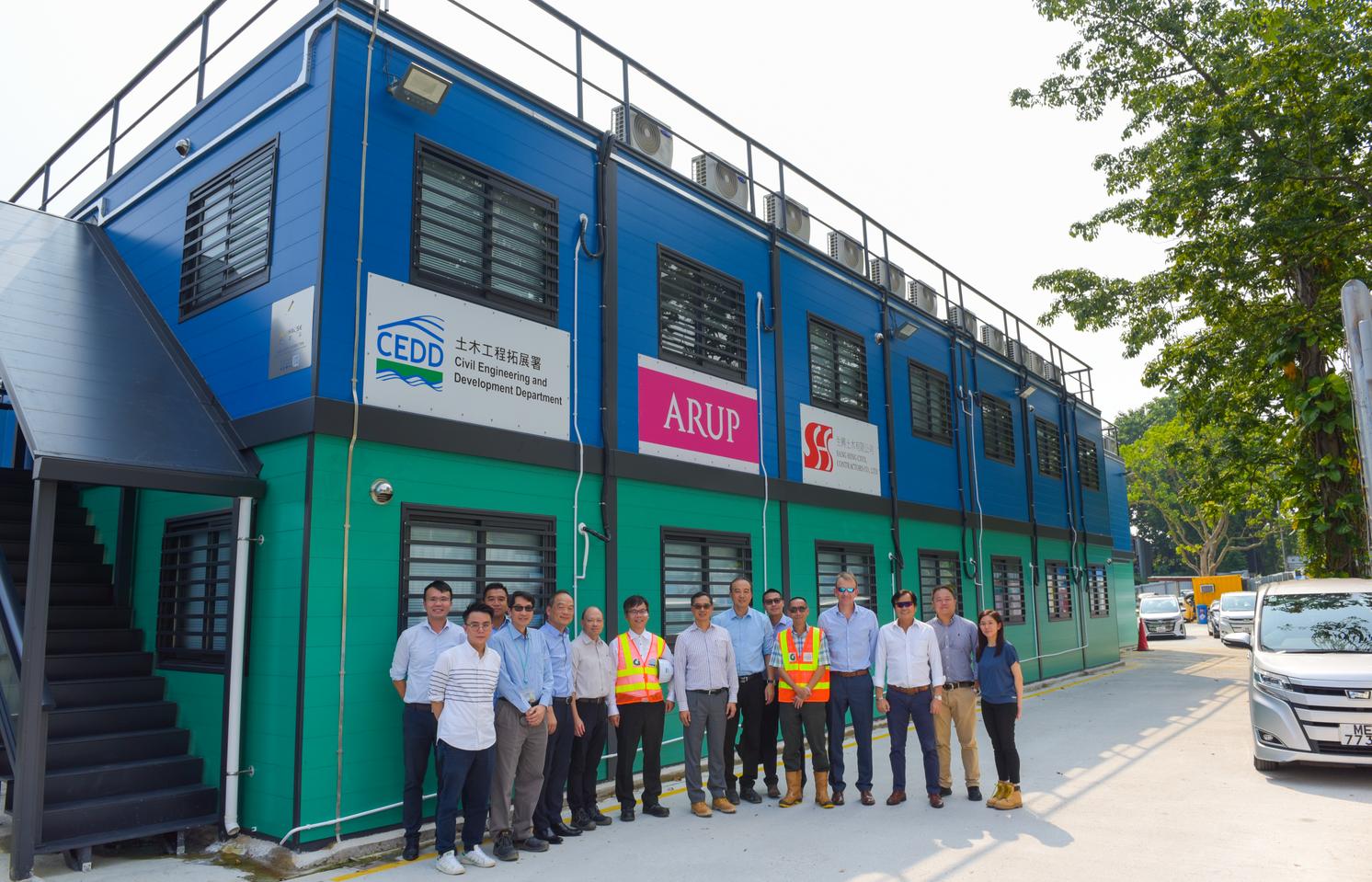 香港建筑新势力!香港土木工程拓展署参观铝遊家香港工程