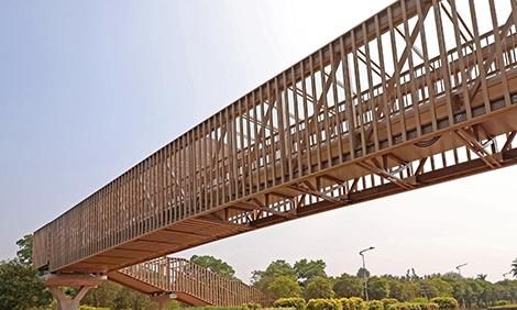 广东省第一座铝合金天桥,从无到有只要1天