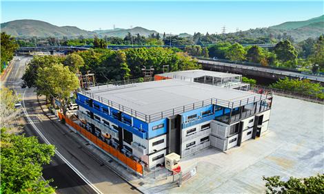 铝遊家建造香港首个三层铝结构装配式建筑!