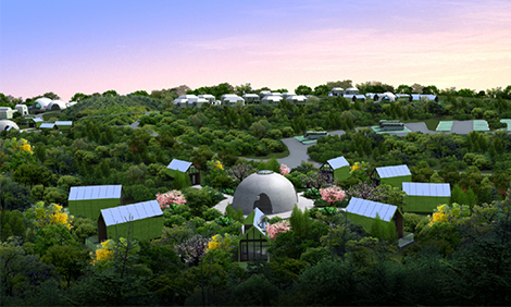 铝遊家要在云海仙境打造高端度假酒店啦!