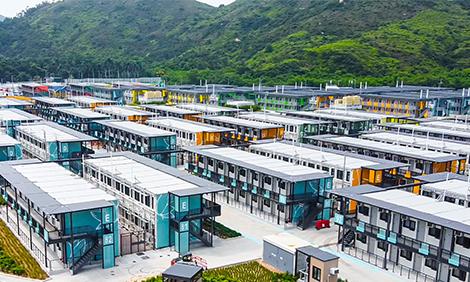 广州日报访谈:香港竹篙湾大型检疫隔离中心广东造